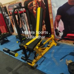 Mild Steel Leg Curl Extension Machine