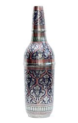 Nirmala Handicrafts Brass Wine Bottle Home Decorative Showpiece