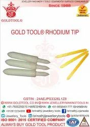 Gold Tool Rhodium Tip
