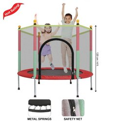Mini Trampoline With Net