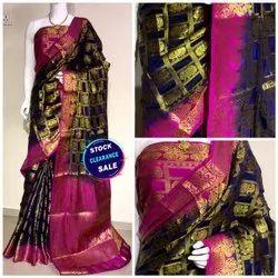 Pure Moonga Silk Saree