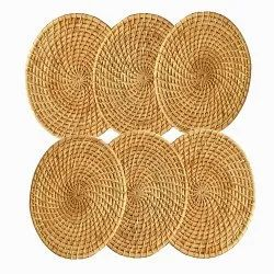 Beige Bamboo Placemat CANE PLACEMATS