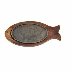 Sizzler Plate Fish Shape