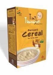 Tiny Tummies Organic Barnyard Baby Cereal, High in Protein
