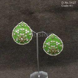 Traditional Meenakari Earrings