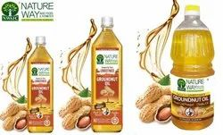 100% Natural & Best Quality Natureway Pure Groundnut Oil