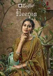 Zulfat Heenaz Pashmina Designer Suits Catalog