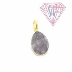 Black Electroplated Pendant