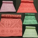 Indian Applique Cut Work Cotton Bed Sheet