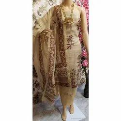 Fancy Cotton Silk Suit Fabric