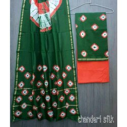 Chanderi Silk Unstitched Salwar Suit