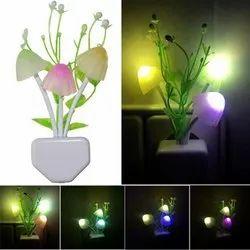 Plug Mushroom Led Night Light