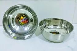 Silver Round STAINLESS STEEL MANGO WATI, For Home