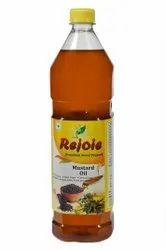 Rejoie Lowers Cholesterol Wood Pressed Extra Virgin Mustard Oil, Packaging Type: Plastic Bottle, Packaging Size: 1 litre