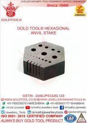 Riveting Hexagonal Stake