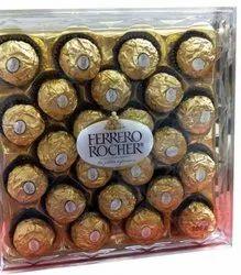 24 Piece Round Ferrero Rocher Premium Chocolates