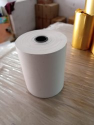 Wood Pulp Plain Thermal Paper Rolls (POS), GSM: Less than 80 GSM, Packaging Type: Carton Box