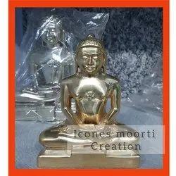 Brass Finish Buddha Statue