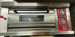 Electric Large Baking Oven, For Commercial, Capacity: Upto 16 Pizza Per Shift