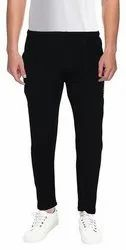 Casual Wear Black Slim Tapered Trousers