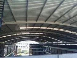 Mild Steel Modular Industrial Sheds