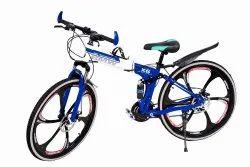 Blue Bmw X6 Foldable Cycle