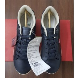 Men Levis 0413 Dark Blue Sneaker Shoes, Size: 6