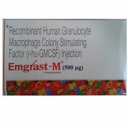 Emgrast M 500mg Injection