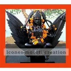 Black Shani Dev Statue