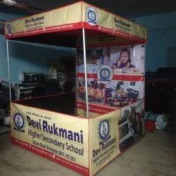 flex marketing tent 4x4x7