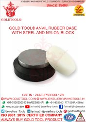 Gold Tool Rubber Base With Steel & Nylon Block