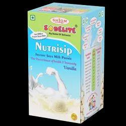 Sodelite Nutrisip Instant Soya Milk Premix (Vanilla) (28g)