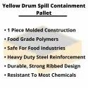 Drum Spill Containment Plastic Pallets