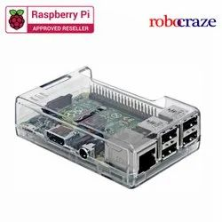 Good Quality Raspberry Pi Clear Case - Robocraze