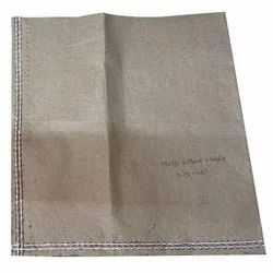 15 x 15 inch Brown Paper Laminated HDPE Bag