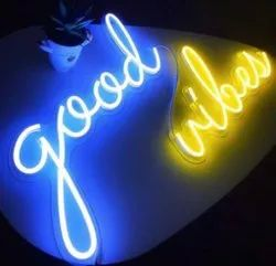 Acrylic Neon LED Sign Board for Outdoor