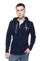 Hooded Men Fleece Sweatshirt