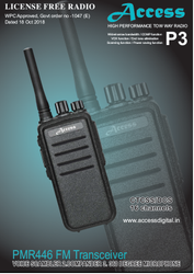 Access Make Licence Free Walkie Talkie