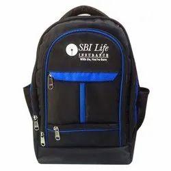 Black Jack Polyester Promotional School Backpack, Capacity: 30 L