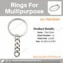 Steel Keyring Chains