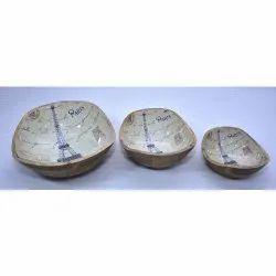 CII-806 Wooden Bowl Set
