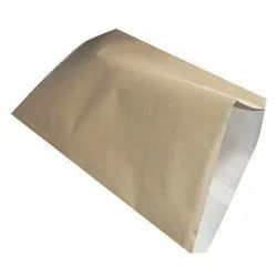 Plain Kraft Paper Laminated HDPE Bag