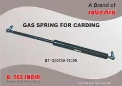 Gas Spring For Carding Machines