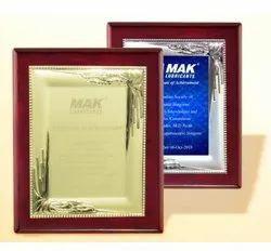 FP 10623 Metal Plate Memento