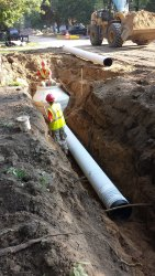 Ceramic Sewer Pipe Line Construction, in Delhi NCR