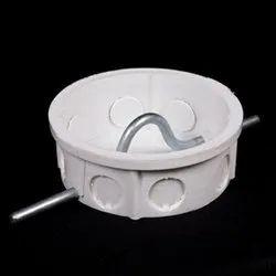 Plastic 5 Inch PVC Ceiling Fan Box