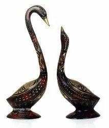 Metal Duck(Swine) Sat Home/Table Decorative Showpiece