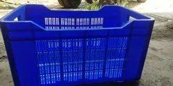 Rectangular Mesh Plastic Vegetable Crate, Size: 540x360x290