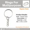 Keyring Chain Rings