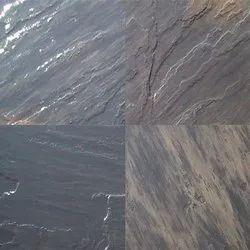 Black Sandstone Floor Slabs
